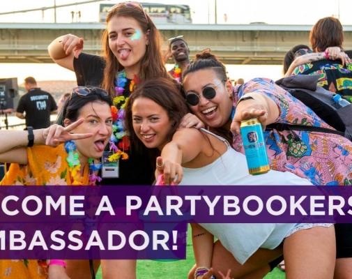 Apply to be a PartyBookers Ambassador!