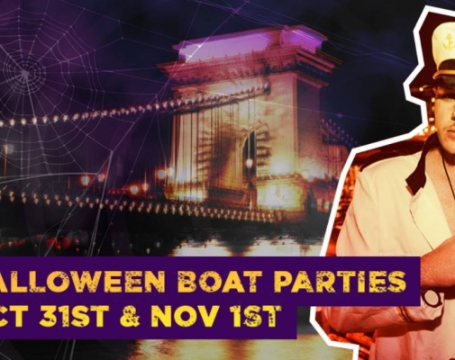 Halloween Boat Parties in Budapest
