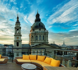 The Coolest Rooftop Bars in Budapest
