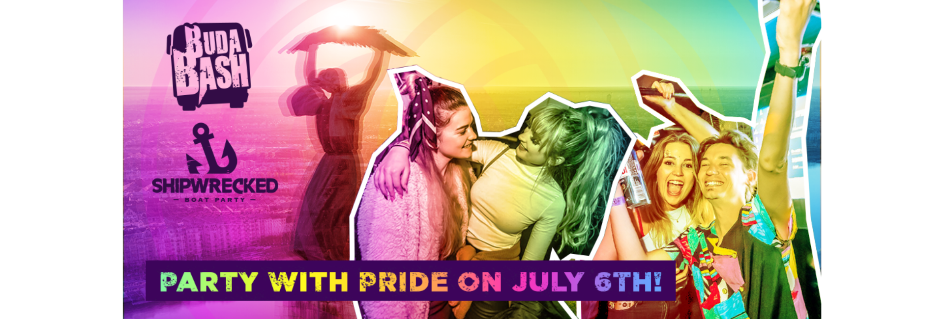 Party with PRIDE! Join a Boat Party or Party Bus!