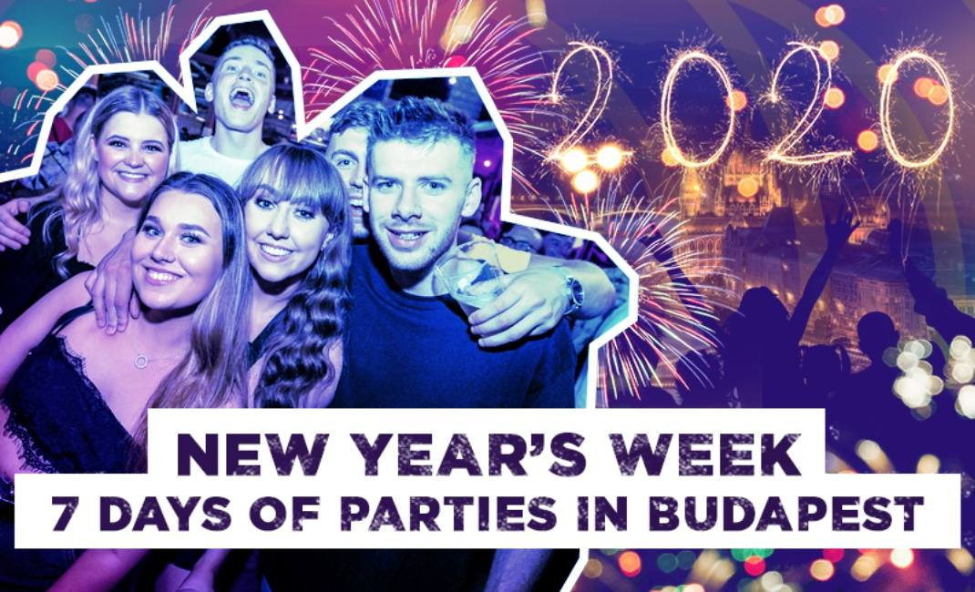 New Year's Week with PartyBookers Budapest!